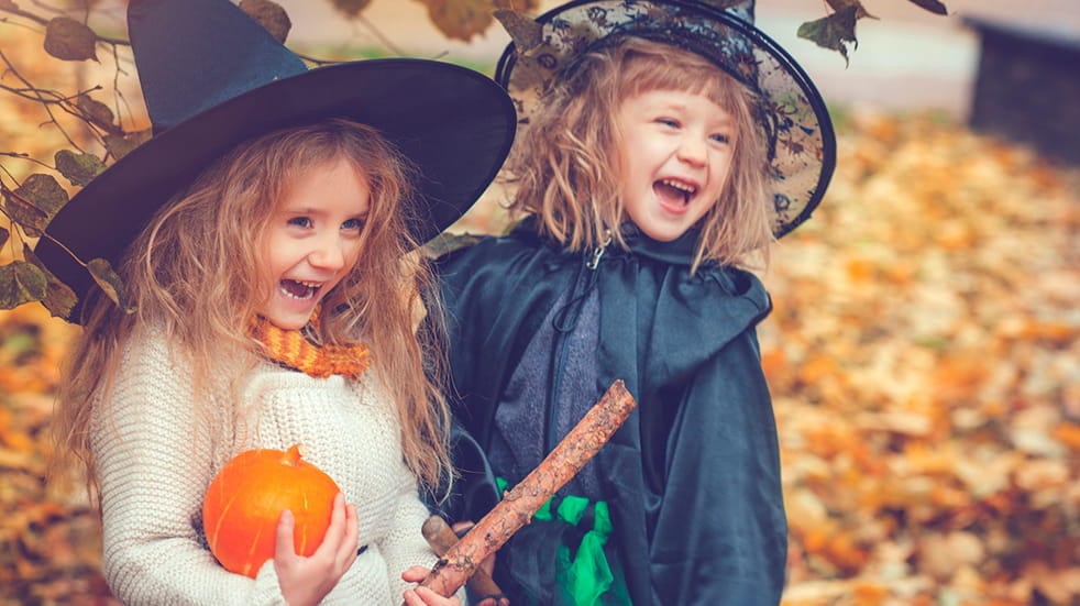 Halloween and Bonfire night: get spooky for some trick or treating with the kids this Halloween